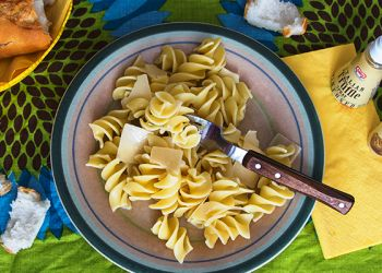 Fusilli with white tuffle and parmesan cheese