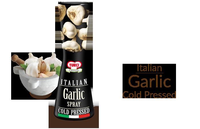 Italian Garlic Spray Cold Pressed